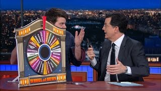 The Late Show Wheel Of News(There are so many great news stories, Stephen can't possibly choose which one to cover. So he's relinquishing editorial control of The Late Show to the Wheel ..., 2016-02-19T08:35:00.000Z)
