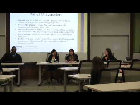 Alumni Panel   Internship and Job Search Strategies for International Students1