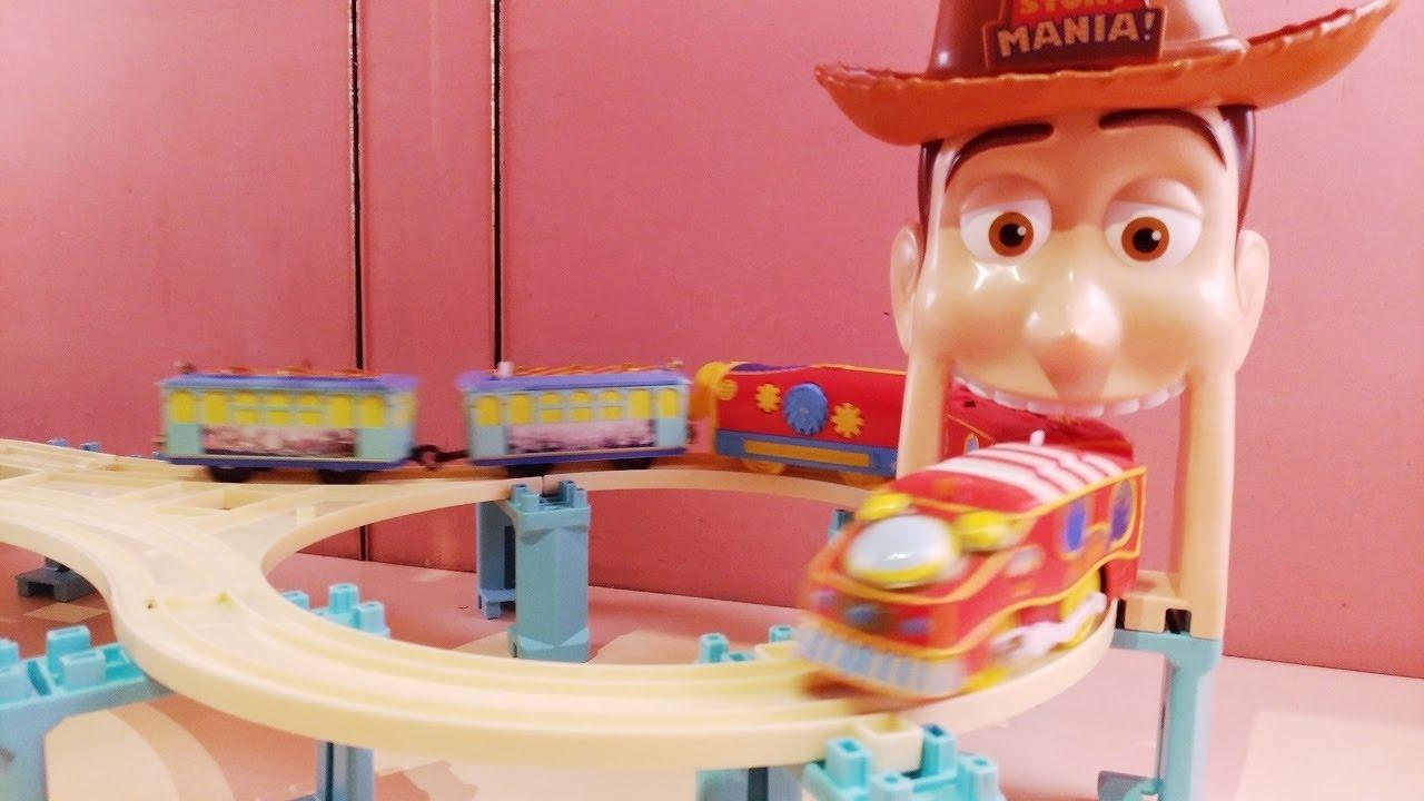f95d27bd33d93a プラレール トイストーリーマニア ディズニシー・エレクトリックレールウェイで遊んでみた Plarail Tokyo Disney Sea  ToyStoryMANIA