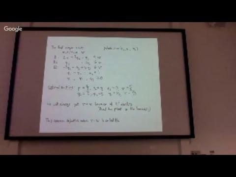 DM Lecture 22: LP for zero-sum games