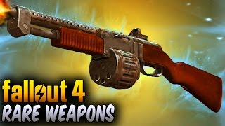 Fallout 4 Rare Weapons - 5 Awesome Rare & Unique Weapons ! (Fallout 4 Rare & Secret Weapons)