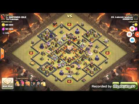 IMMORTUI (#PGR92UJ) Cheating in Clan Wars (Clash of Clans) with Xmod / imod