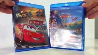 Blu Ray Disc Películas Cars y Cars 2