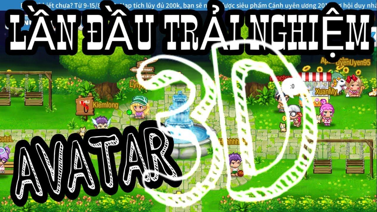Lần Đầu Trải Nghiệm Avatar 3.2.2 | Phá 10m Xu Nâng Cánh Tiểu Tiên… Avatar2D Teamobi