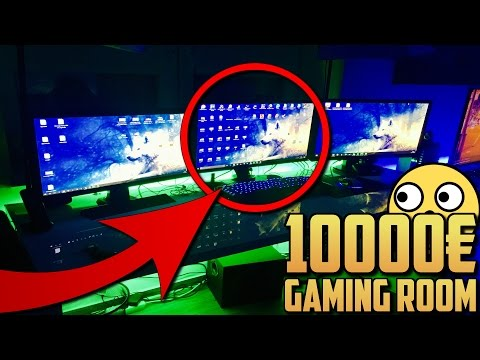 DAS 10000€ GAMING ZIMMER 😍🤑 !! | GamerBrother Room Tour 😎