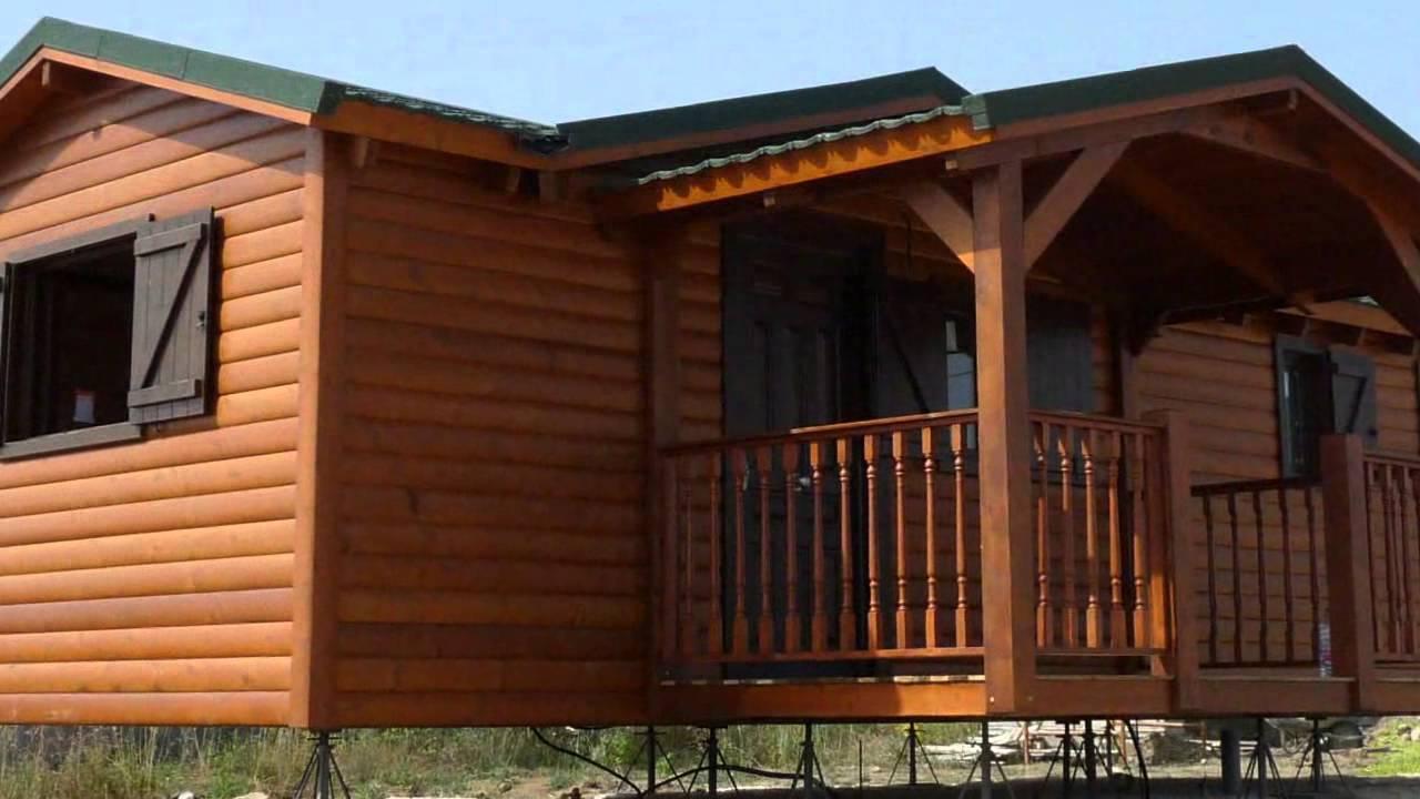 Casas de madera baratas en almer a y c diz youtube for Casas de madera baratas
