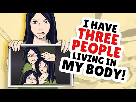 I have 3 different people living in my body!