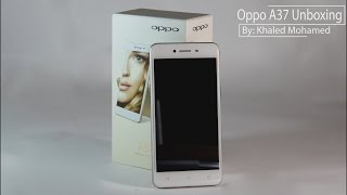 unboxing oppo a37