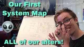 Mapping My Alters | How Our System is Structured | 143 Alters!!