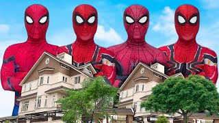 BIG SPIDER-MAN's Team | Spider-man House Dance