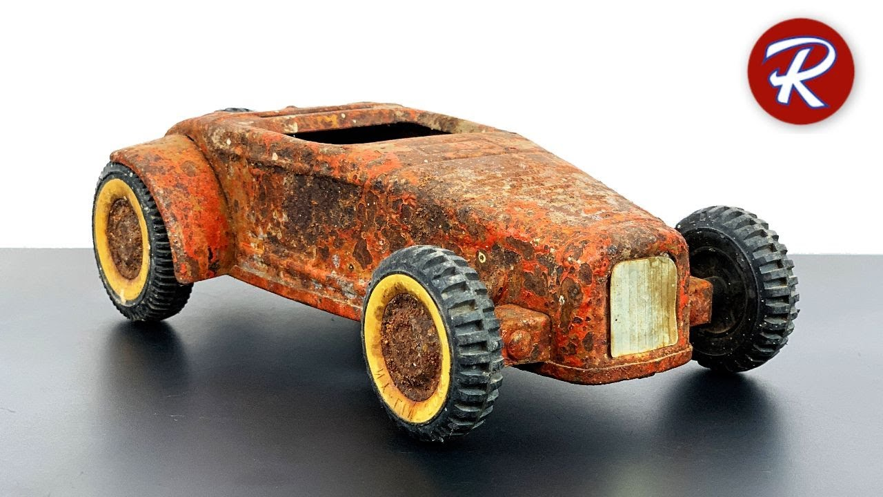 1960s Nylint Roadster Hot Rod Restoration