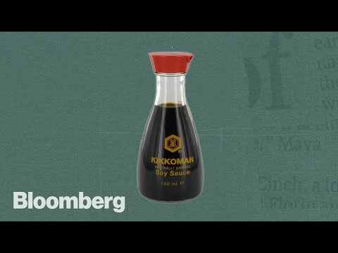 The Soy Sauce Bottle Designed to Bring You Happiness