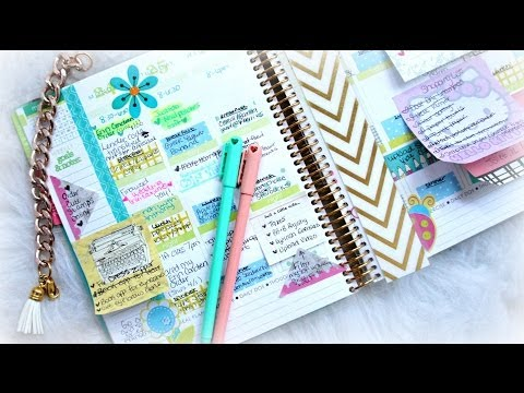 How To Organize And Decorate Your Planner