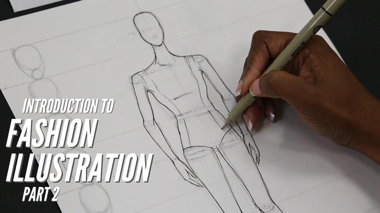 Introduction To Fashion Illustration Part 2 Mood Sewciety