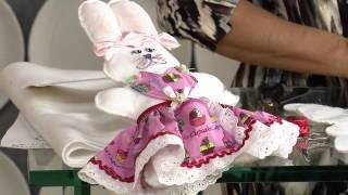 Aprenda a fazer uma coelhinha porta-bombom