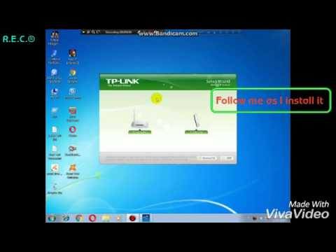 How To Install:Tp-link WN727N Wireless Wifi Adapter Device And Driver  Utility_FOR PC_