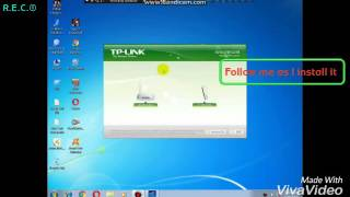 how to install tp link wn727n wireless wifi adapter device and driver utility for pc