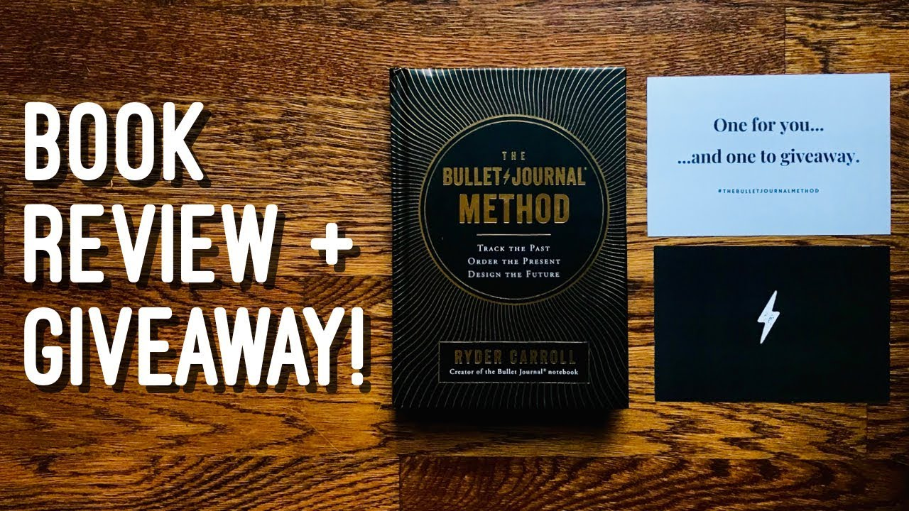 Bullet Journal Method Book Review [Giveaway Closed]