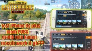 MAIN PUBGM DI IPHONE 6S PLUS DI 2019, MASIH WORK it GK ? - PUBG MOBILE INDONESIA