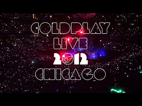 Coldplay Live 2012 Mylo Xyloto Tour - United Center, Chicago