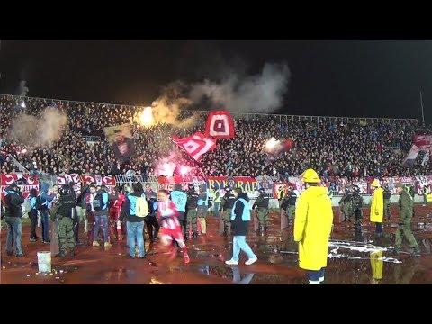 Delije - Radost nakon gola Boaćija | 156. večiti derbi: Partizan - Crvena zvezda 1:1