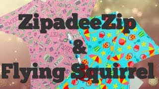 OVERVIEW & GIVEAWAY ♡ SLEEPING BABY ZIPADEEZIP AND FLYING SQUIRREL! [Closed]