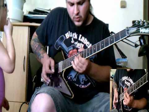 Damageplan - Wake Up guitar cover - by ( Kenny Giron ) kG