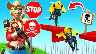 IF YOU STOP, YOU'RE ELIMINATED! (Fortnite)