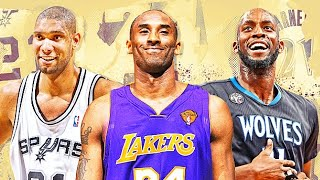 Kobe Bryant Inducted Into Basketball Hall Of Fame With Tim Duncan & Kevin Garnett!