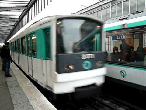 Paris Metro パリメトロ2号線MF6...