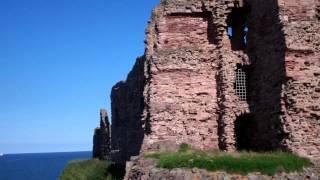 Tantallon Castle Firth Of Forth Coast East Lothian Scotland