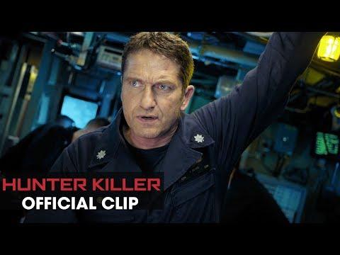 "Hunter Killer (2018 Movie) Clip ""It's A Hit"" – Gerard Butler, Gary Oldman, Common"