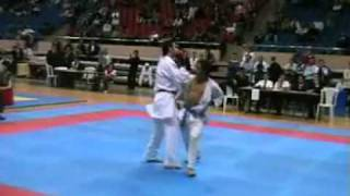 WKF Karate   Rafael AGHAYEV AZE   Serkan YAGCI TUR   FINAL OPEN ISTANBUL TOURNAMENT 20052