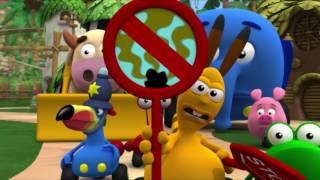 Перекресток в джунглях - Все серии подряд (Сезон 1 Серии 4,5,6) l Мультфильм для малышей