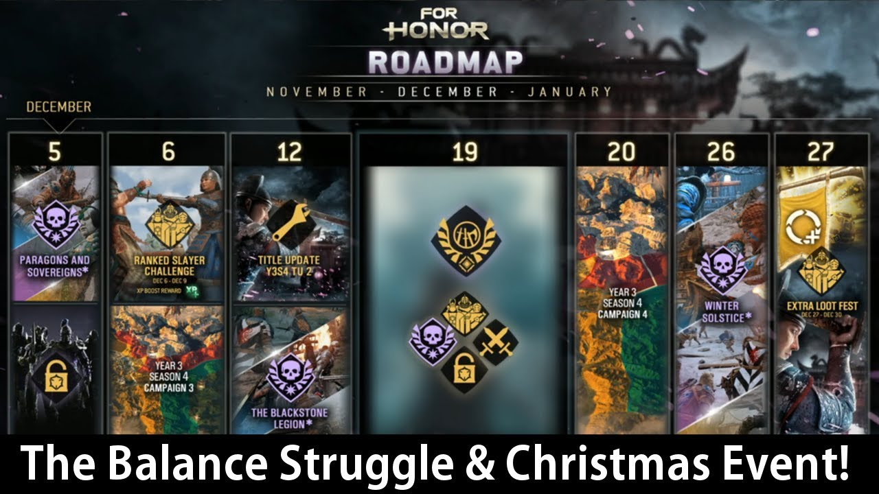 For Honor Christmas Event 2020 For Honor   The Balance Struggle & Christmas Event Incoming