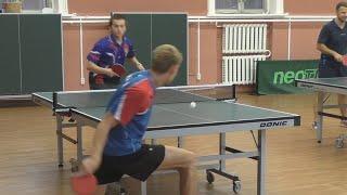 Антон АНИСИМОВ vs Александр ДЖАНМУХАМЕДОВ, Master Open, Настольный теннис, Table Tennis