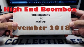 High End Boombox Unboxing - Football - November 2018