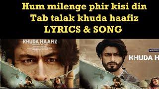 Gambar cover Khuda Haafiz Title Track Lyrics|Vishal Dadlani| Khuda Hafiz title Song 2020