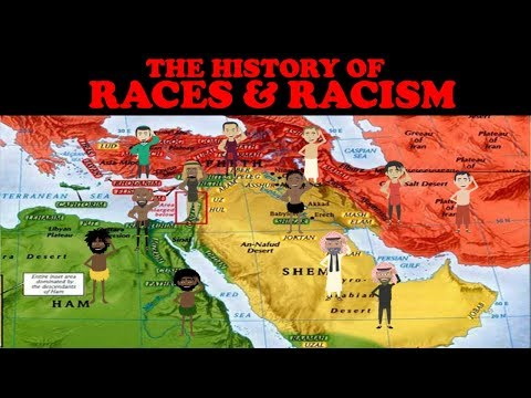 THE HISTORY OF NATIONS & RACISM