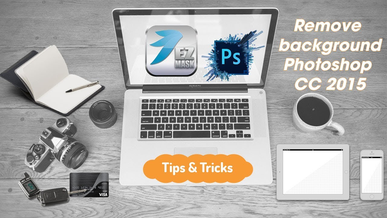 Using EZ Mask 3.0 on Photoshop CC 2015 remove background
