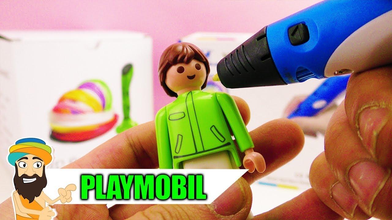 playmobil figur mit 3d stift selber machen 3d stift. Black Bedroom Furniture Sets. Home Design Ideas
