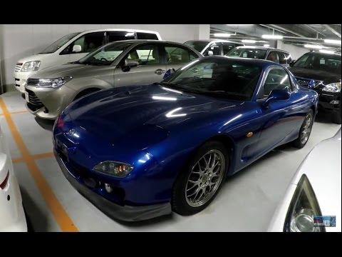 2001 mazda rx7 type-r bathurst at japanese (jdm) car auction - youtube