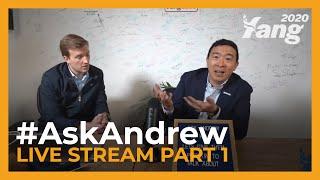 #AskAndrew - Live Stream Part 1