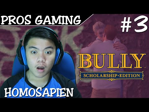 ANAK GILA HOMOSAPIEN ! - Bully Scholarship Edition Indonesia PT.3 - PROS GAMING