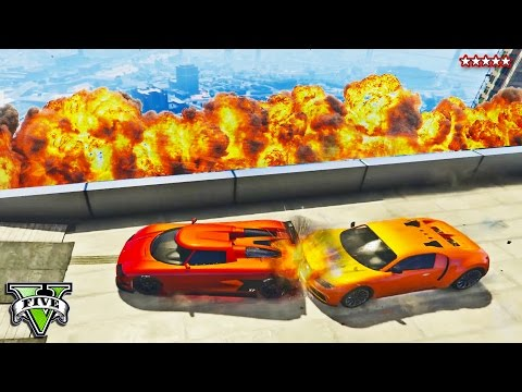 GTA 5 Funny Moments | THE GREAT EXPLOSION RACE | Racers Bombing Each Other | GTA 5 Funny Moments PS4