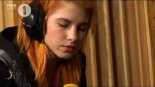 Paramore - Use Somebody (Kings Of Leon Cover) - Live Lounge.wmv