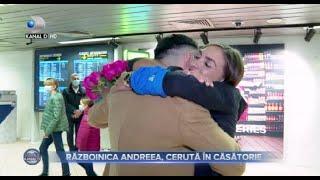 Stirile Kanal D (08.02.2021) - Razboinica Andreea a fost ceruta in casatorie! | Editie de seara