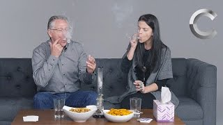 Parents & Kids Smoke Weed Together for the First Time | Strange Buds | Cut