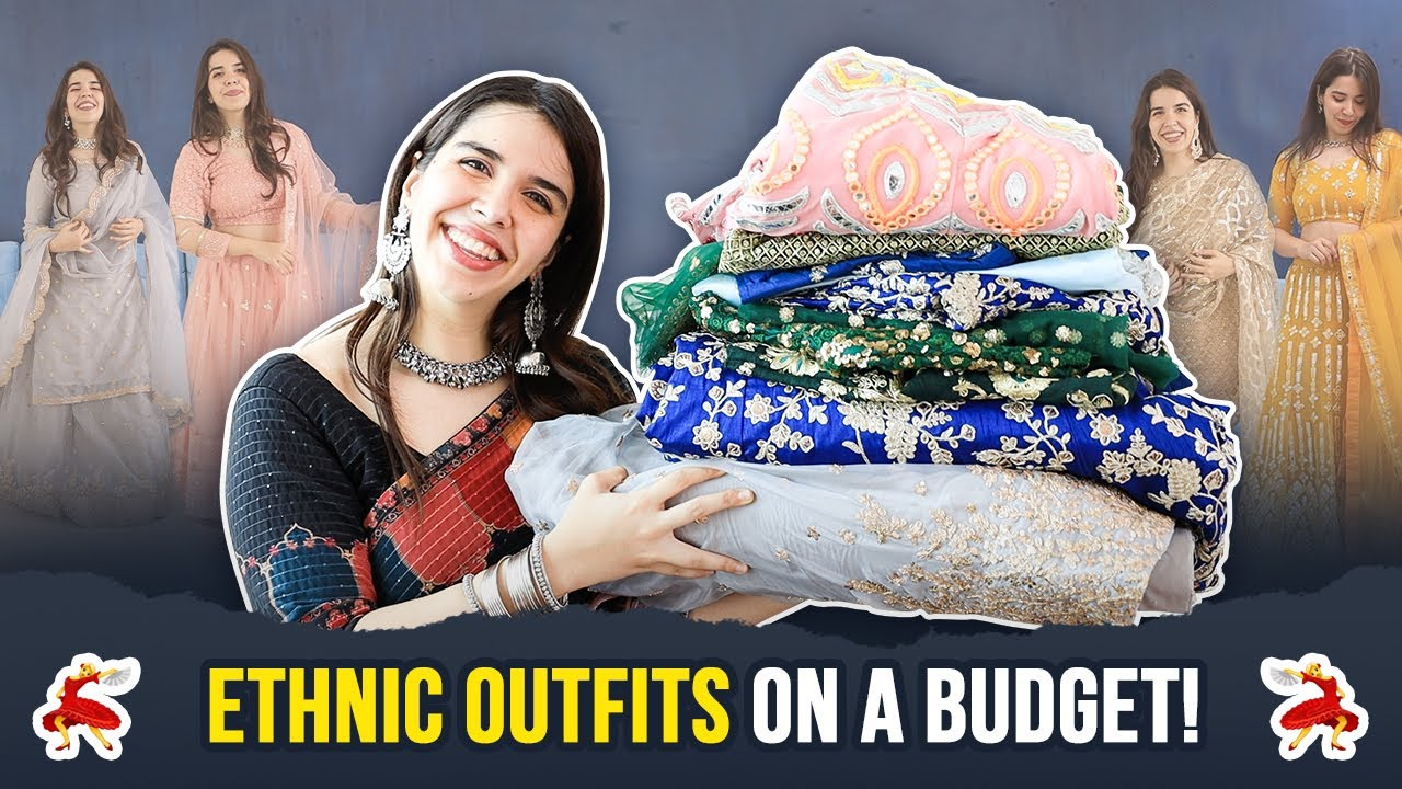Indian ETHNIC Wear Haul! Heavy yet Budget Friendly Outfits for ALL Wedding Events! | Heli Ved