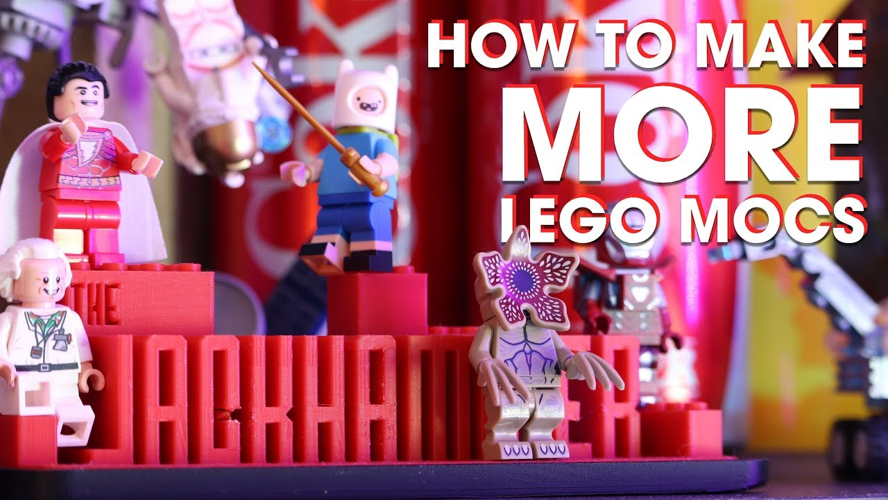 How I Make SO Many LEGO MOCs--And How YOU Can TOO!